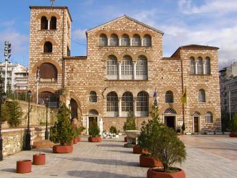 Kostel sv.Dimitria je považován za největší kostel vŘecku