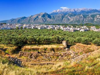 Z kdysi mocného městského státu Sparta se dodnes mnoho nedochovalo