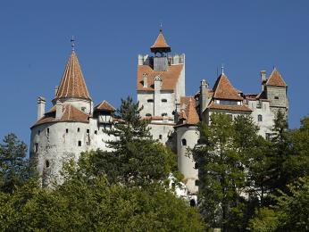 Hrad Bran je opředený legendou ohraběti Drákulovi