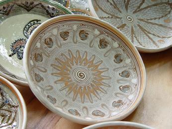 Tradiční keramika z obce Horezu