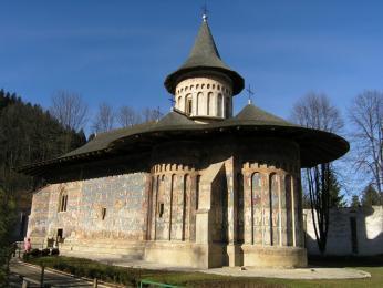 """Klášter Voroneţ je někdy nazýván """"Sixtinská kaple Východu"""""""