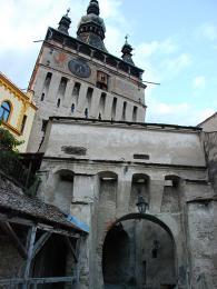 Brána do starého centra Sighișoary