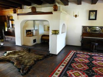 Interiér Drákulova hradu