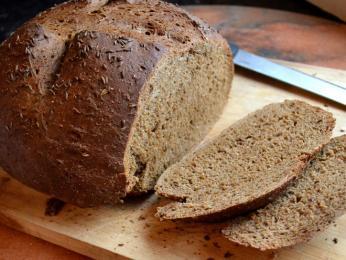 Důležitou složkou ruské kuchyně je tmavý chléb