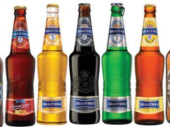Jednotlivé druhy piv jsou označovány čísly na lahvích