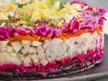 Slaneček se používá třeba na salát seljodka pod šuboj