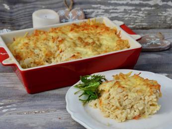 Gratin de crozets je savojskou verzí zapečených těstovin