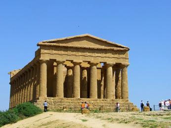 Chrám svornosti je považován za nejzachovalejší řecký chrám na světě
