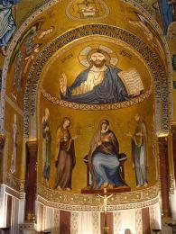 Kaple Capella Palatina je nejnavštěvovanější památkou Palerma