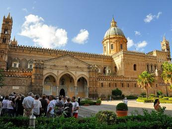 Palermská katedrála z 12. století