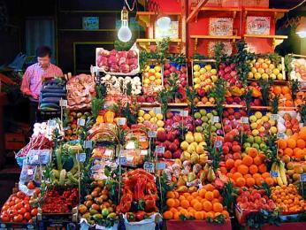 Mercato della Vucciria jsou velké pouliční trhy konající se každý den