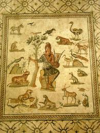 Mozaika varcheologickém muzeu