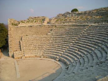 Řecké divadlo v Segestě