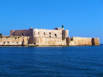 Castello Maniace - pevnost dnes sloužící jako kasárna