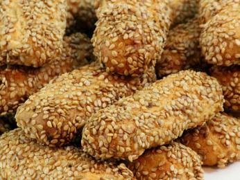Sezamové sušenky biscotti regina