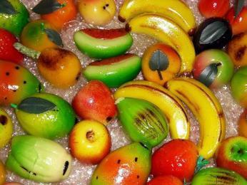 Na Sicílii vyráběné ovoce z marcipánu je jako živé