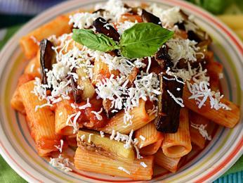 Pasta alla Norma pochází z Catanie