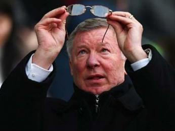 Fotbalový trenér a bývalý aktivní hráč Alex Ferguson