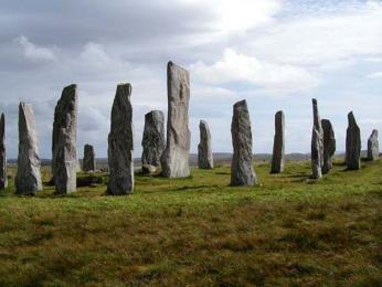 Megalitické kameny Callanish na ostrově Lewis