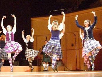 Skupinový tanec ceilidh
