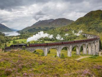 Cesty vlakem zaručují krásné výhledy