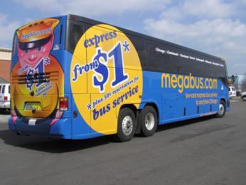 Z Londýna do Skotska můžete využít služeb autobusové společnosti Megabus