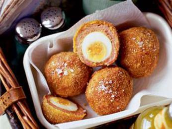 Ochutnejte vejce na skotský způsob