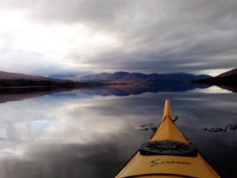 Poznávání skotských jezer na kajaku