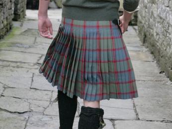 Tradiční pánský oděv zvaný kilt