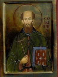 Šiřitel křesťanství Svatý Kolumba