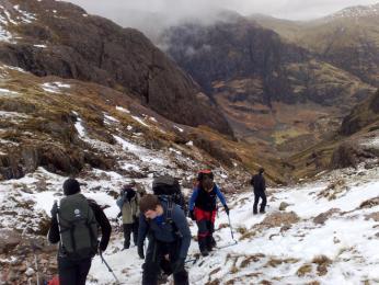Pěší turistika je ve Skotsku oblíbená