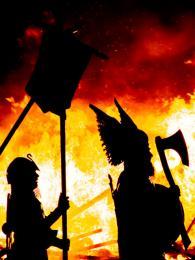 Ohňový festival Up Helly Aa