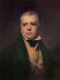 Skotský spisovatel Walter Scott