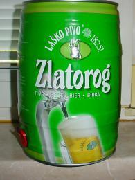 Pivo Zlatorog je pojmenované podle mytického kozorožce se zlatými rohy