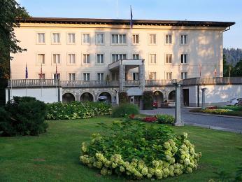 Titova vila ve slovinském Bledu