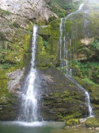 Vodopády v okolí Bovce