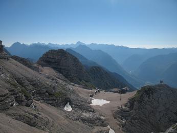 Slovinské lyžařské středisko Kanin