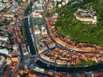 Hlavní město Ljubljana