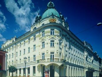 Jeden znejzajímavějších secesních domů Lublaně - Grand Hotel Union
