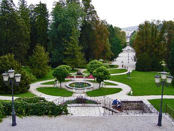 Park Tivoli – největší rekreační oblast Lublaně