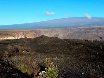Příkladem štítové sopky je havajská Mauna Loa
