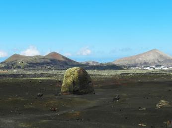 Sopečná puma vNP Timanfaya na Lanzarote