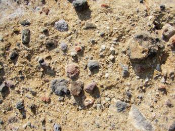 Pyroklastická hornina vytvořená sopečnou činností Stromboli