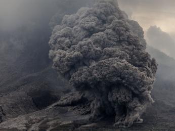 Pyroklastický proud je nejničivějším sopečným projevem