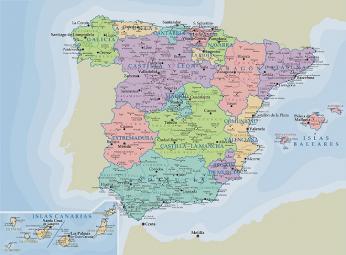 Autonomní oblasti Španělska
