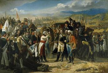 Obraz prohrané bitvy francouzské armády u Bailénu od španělského malíře José María Casado del Alisal