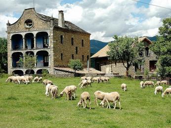 Casa rural v Aragonii