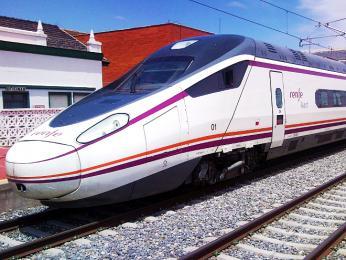 Souprava španělského vysokorychlostního vlaku