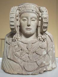 Iberská soška Dama de Elche