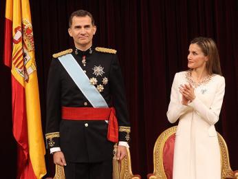 Španělský královský pár - král Felipe VI. a královna Letizia